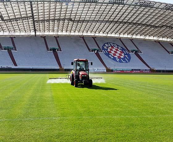 Hajduk - glavni teren Jadro Split